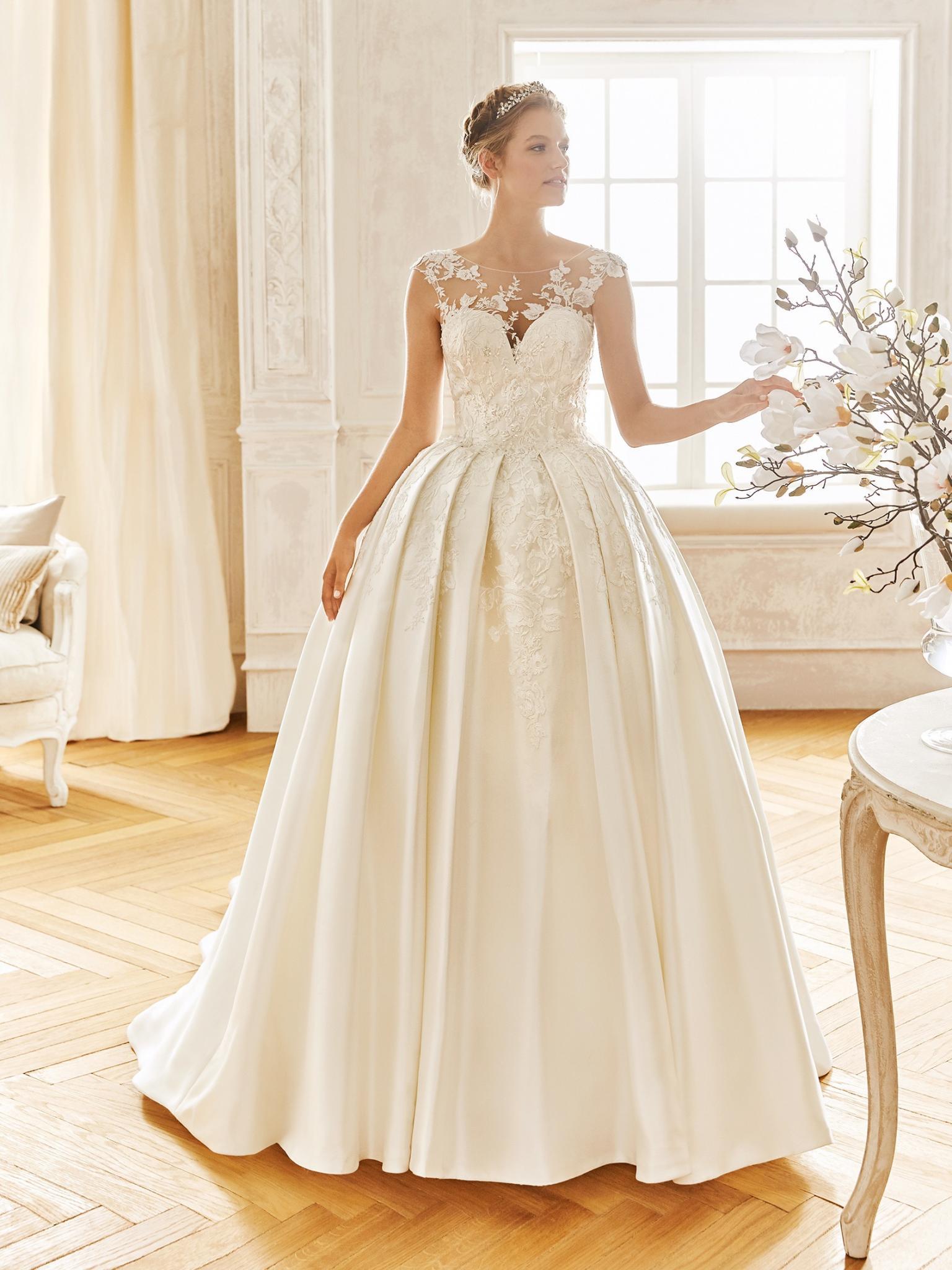 ESTILO PRINCESA La Sposa Broche B - Tendências para vestidos de noiva em 2019
