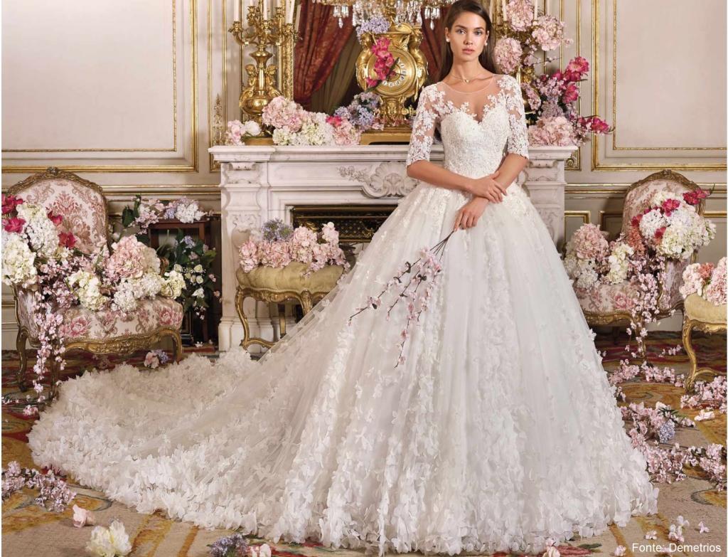 Tendências 2019 1024x783 - Tendências para vestidos de noiva em 2019