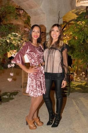 Cláudia Jacques e blogger Iolanda Grenha - Foto Christian Seabra