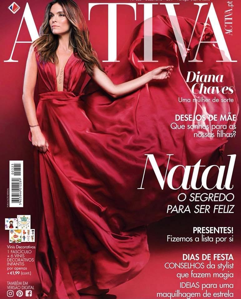 Diana Chaves revista Activa - Atelier Gio Rodrigues