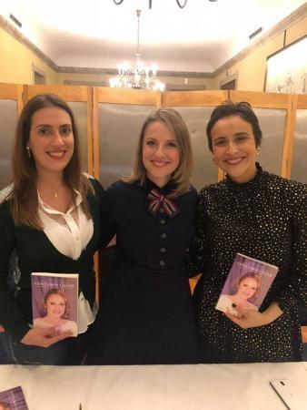 Designer de jóias Sofia Tregeira, wedding planner Célia Pratas e Isadora Lum