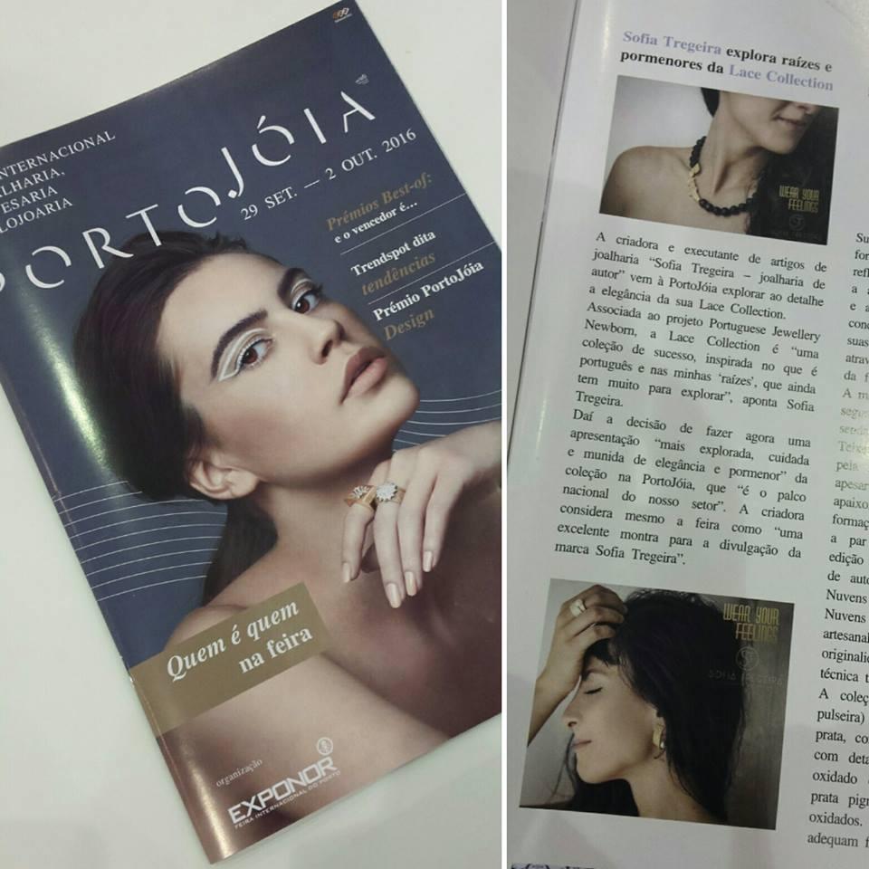 Sofia Tregeira Revista Portojóia - Sofia Tregeira - Joalharia de Autor