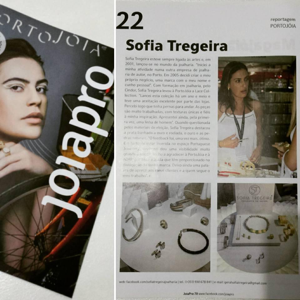 Sofia Tregeira Revista joiapro - Sofia Tregeira - Joalharia de Autor