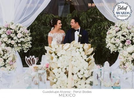 Wedding Planner: Guadalupe Alvarez | Foto: Kape Photography