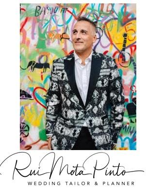rui foto e logo - Entrevista com o Wedding Tailor & Planner Rui Mota Pinto