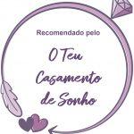 selo fornecedor recomendado 150x150 - Entrevista com a designer de bouquets Verónica Teixeira