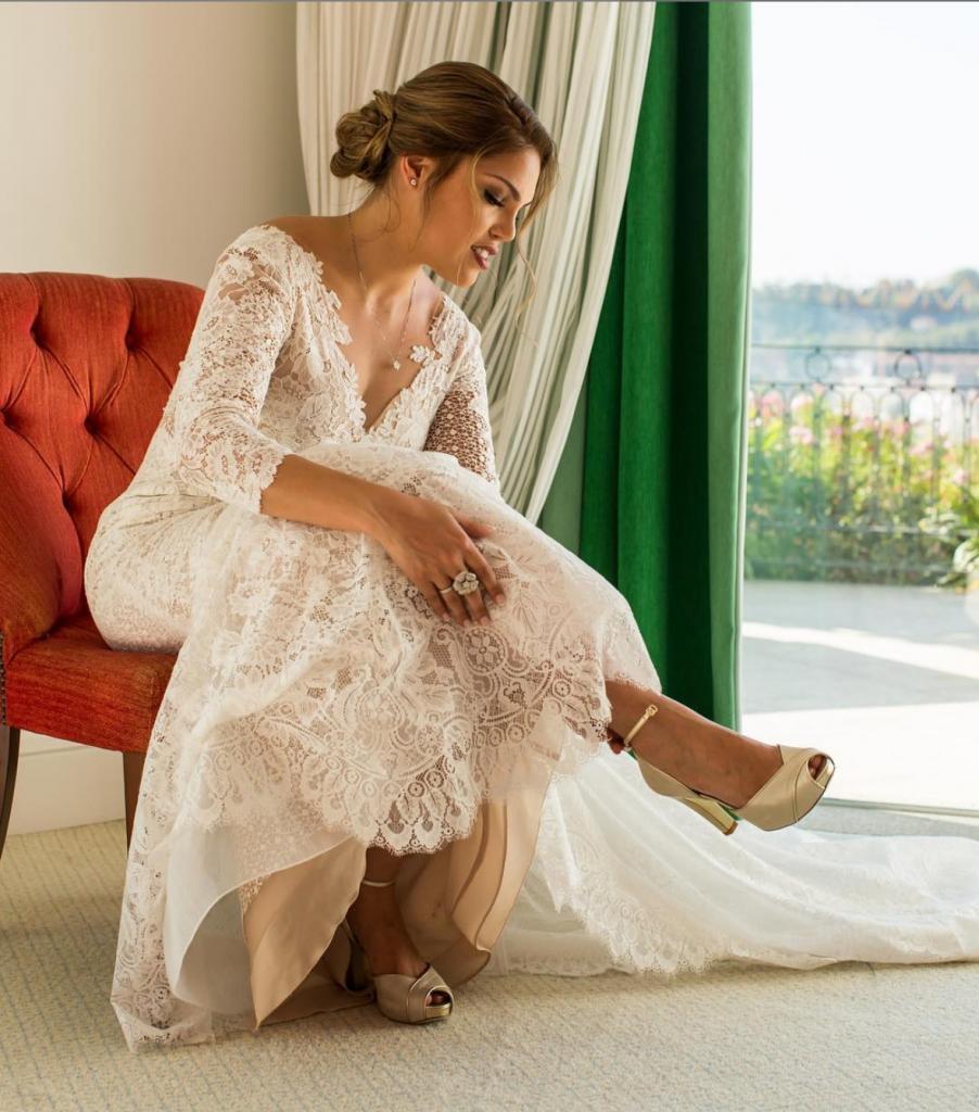 9 902x1024 - Sapatos de noiva por medida