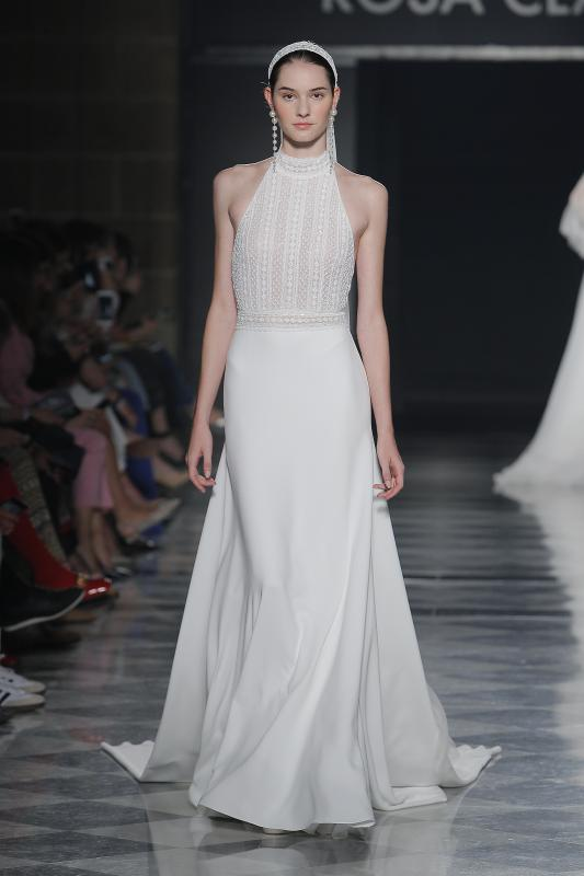 Barcelona Bridal Fashion Week 10 - Vestidos de noiva Rosa Clará 2020
