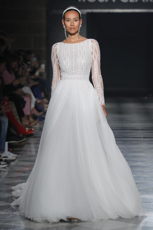 Barcelona Bridal Fashion Week 18 - Vestidos de noiva Rosa Clará 2020