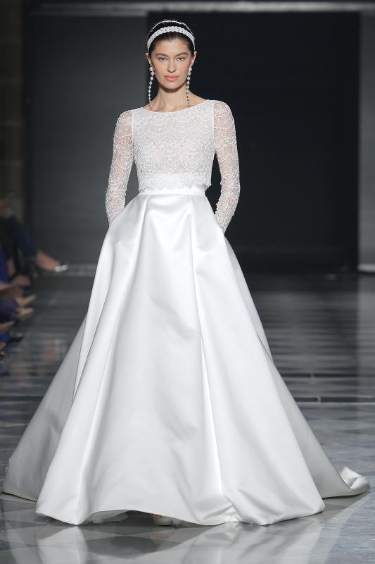 Barcelona Bridal Fashion Week 21 - Vestidos de noiva Rosa Clará 2020