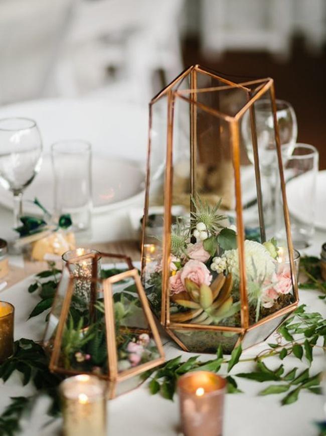 Fonte Weddingz in - 10 Inspirações para Casamento Industrial Chique