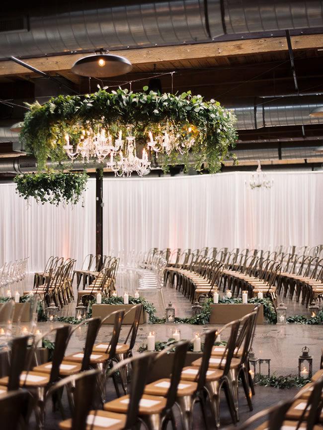 Kristin La Voie Photography Liven It Up Events - 10 Inspirações para Casamento Industrial Chique