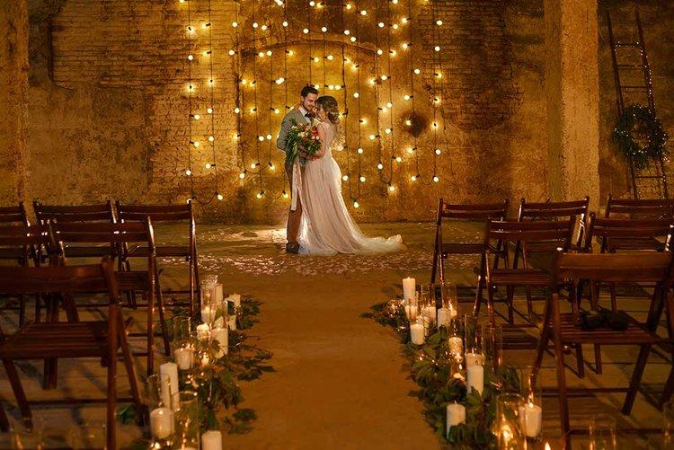 Olive Sky Wedding Event Planner - 10 Inspirações para Casamento Industrial Chique