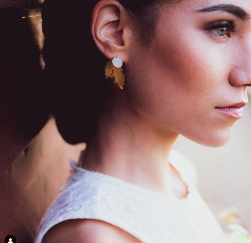 sofia1 2 800x775 - Brincos para noiva de Sofia Tregeira Joalharia de Autor