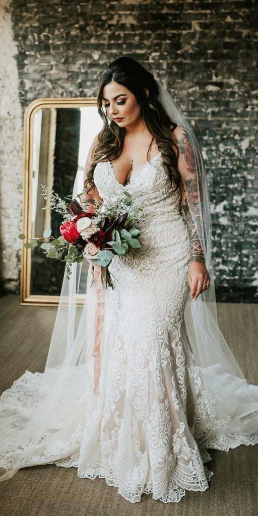1Foto via Pinterest - Vestidos de Noiva Boho plus size