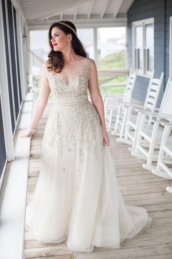 3Foto via Southern Bride Magazine - Vestidos de Noiva Boho plus size