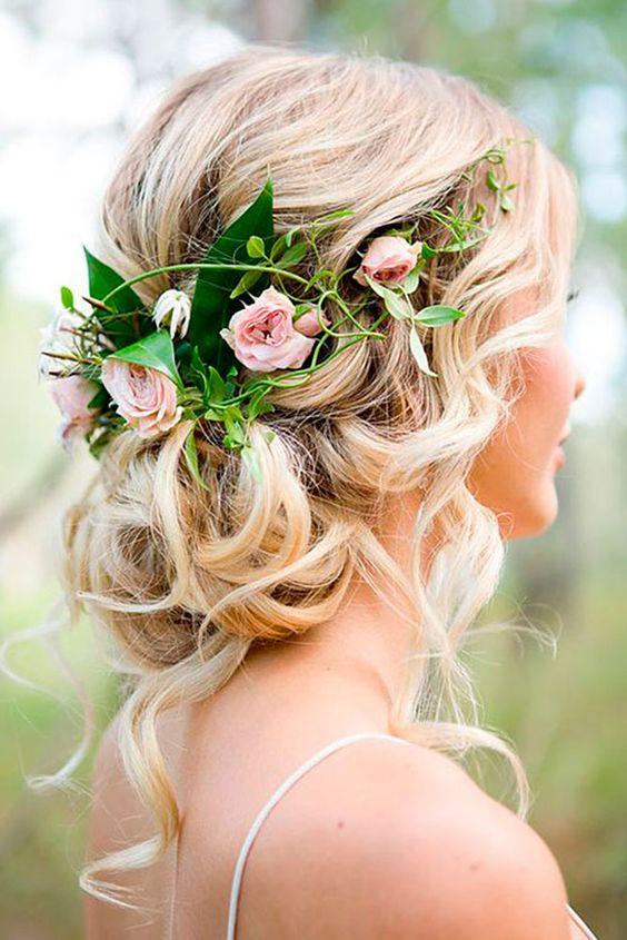 En Boda - Inspirações de penteados para noiva boho