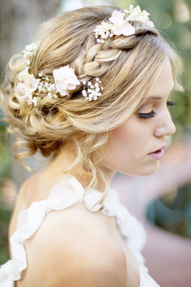 Foto via Pinterest1 - Inspirações de penteados para noiva boho