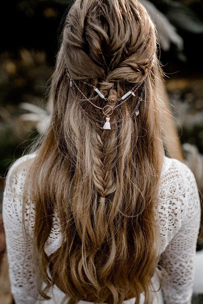kathiundchris via Instagram - Inspirações de penteados para noiva boho