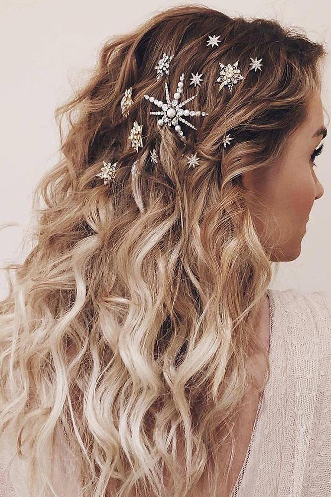 laurenconrad via Instagram - Inspirações de penteados para noiva boho