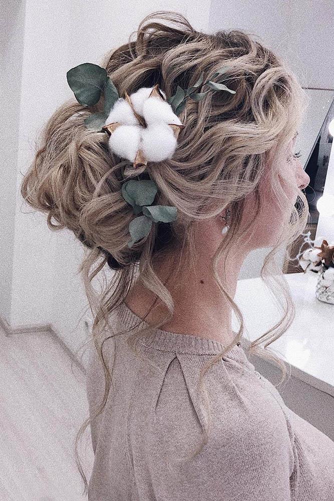 makeupditt via Instagram - Inspirações de penteados para noiva boho