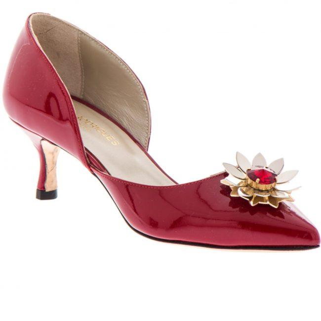 Casamento tons de vermelho sapatos2 1 650x649 - Casamento em tons de vermelho