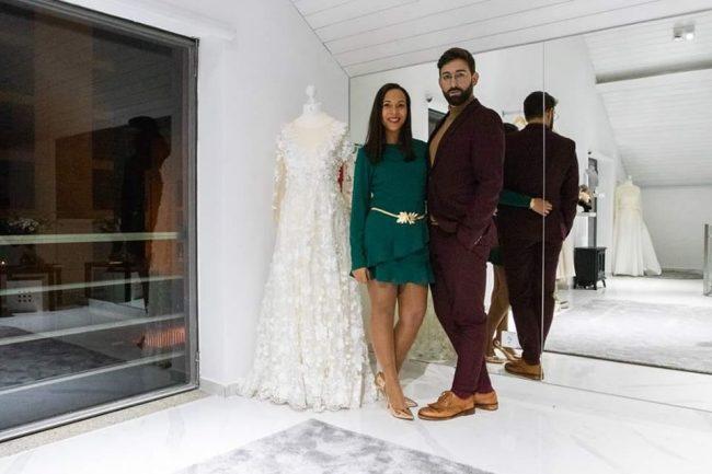 eu e miguel Oliveira 650x433 - Entrevista com o estilista Miguel Oliveira