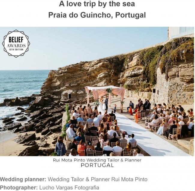 A love trip by the sea 1 650x637 - Press Release: Casamentos portugueses ganham prémio internacional