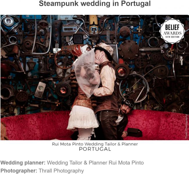 Steampunk wedding in Portugal 650x600 - Press Release: Casamentos portugueses ganham prémio internacional