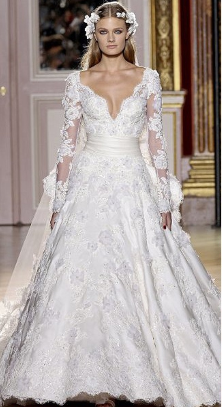 3 1 - Vestidos de noiva românticos: Inspirações