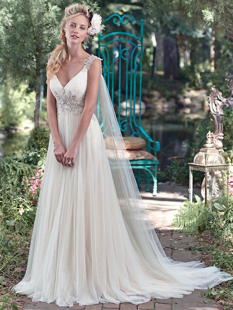 7 Maggie Sottero - Vestidos de noiva românticos: Inspirações