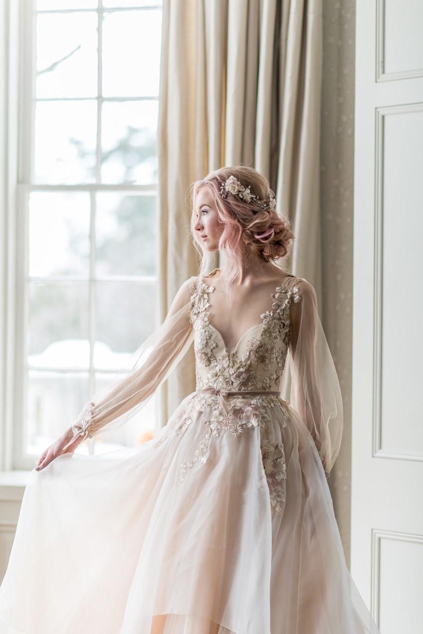 Catherine Langlois - Vestidos de noiva românticos: Inspirações