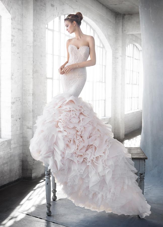 Lazaro Bridal - Vestidos de noiva românticos: Inspirações