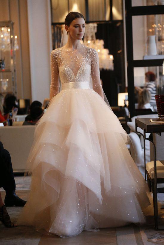 Monique Lullier 1 - Vestidos de noiva românticos: Inspirações