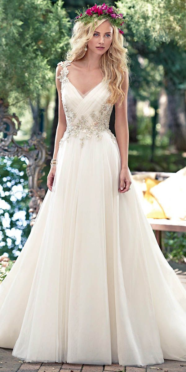 Pinterest5 1 - Vestidos de noiva românticos: Inspirações