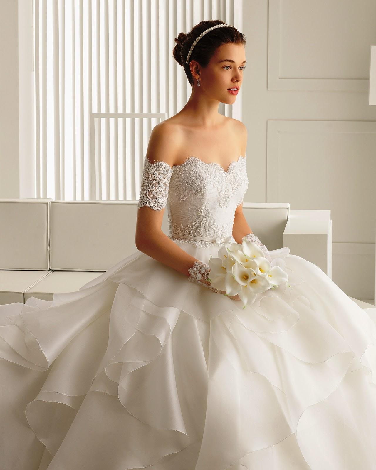 Rosa Clará - Vestidos de noiva românticos: Inspirações