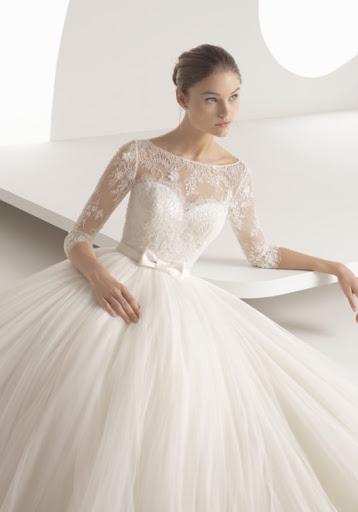 Rosa clará 1 - Vestidos de noiva românticos: Inspirações
