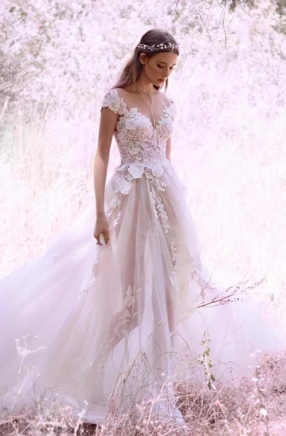 galia lahav - Vestidos de noiva românticos: Inspirações