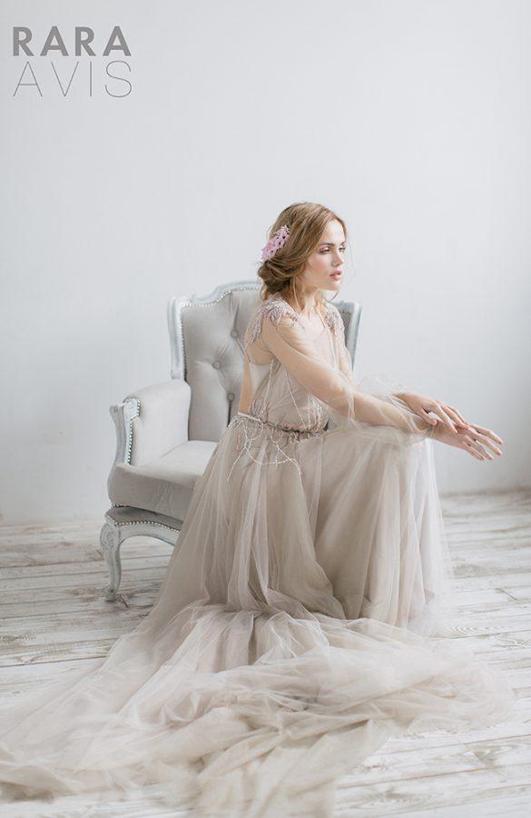 rara avis 1 - Vestidos de noiva românticos: Inspirações