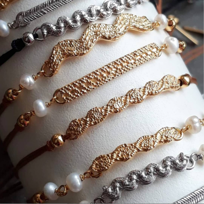 pulseiras lace colection 650x650 - Entrevista com a joalheira Sofia Tregeira