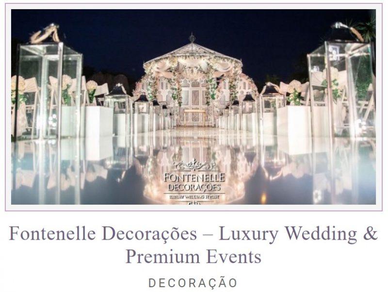 Fontenelle Decorações 800x602 - Zankyou International Wedding Awards 2020